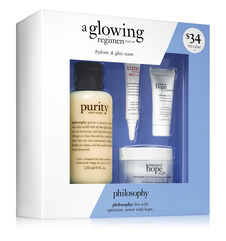 philosophy, a glowing regimen trial set