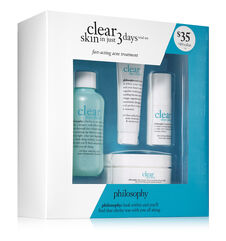 philosophy, clear skin in just 3 days trial set