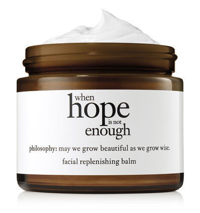 philosophy, when hope is not enough facial replenishing balm