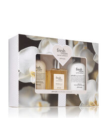 philosophy, fresh cream warm cashmere fragrance 3-piece set