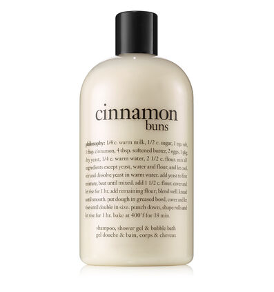 philosophy, cinnamon buns shower gel