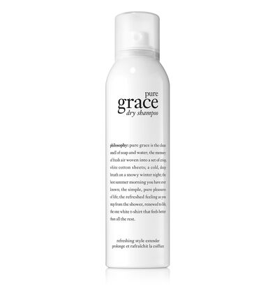 philosophy, pure grace dry shampoo
