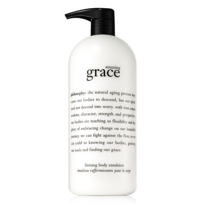 philosophy, amazing grace 32 oz body emulsion