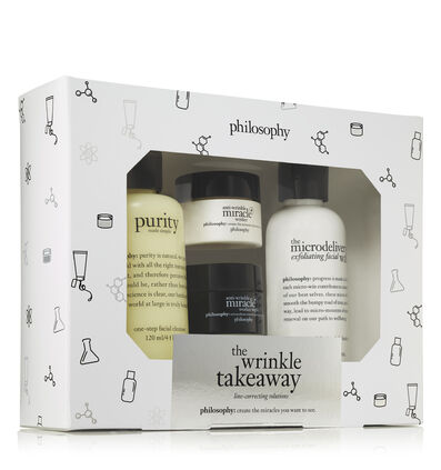 philosophy, anti-wrinkle miracle worker- wrinkle takeaway trial set