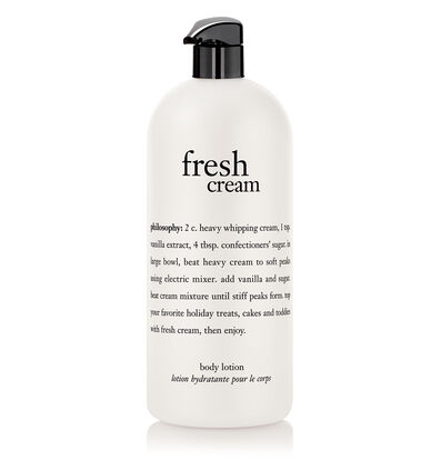 philosophy, fresh cream 32 oz body lotion