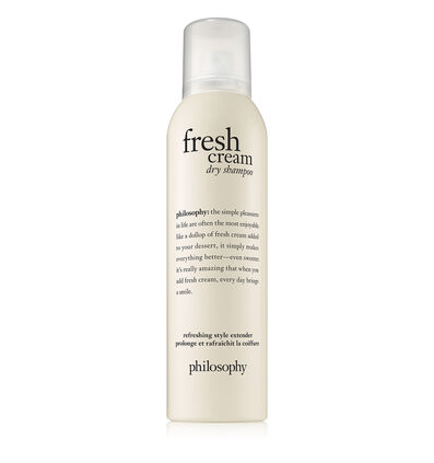 philosophy, fresh cream dry shampoo