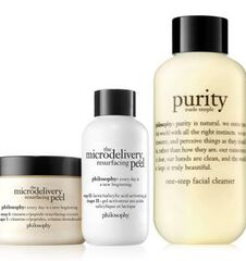 purity and microdelivery peel duo purity made simple cleanser & microdelivery resurfacing peel