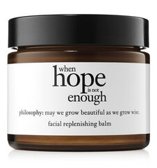 philosophy, when hope is not enough