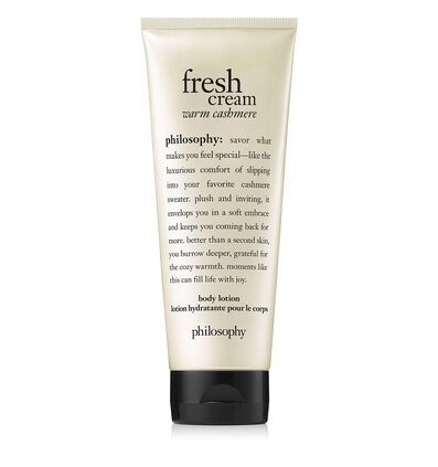philosophy, fresh cream body lotion
