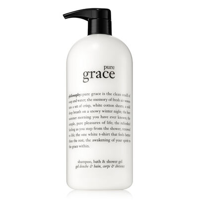 philosophy, pure grace 32 oz shower gel