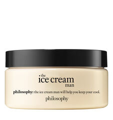 philosophy, ice cream man body souffle