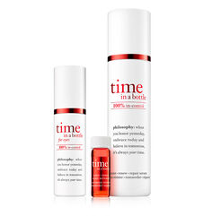 philosophy, time in a bottle duo