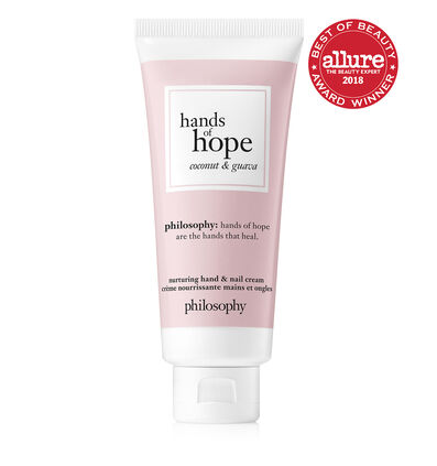 philosophy, coconut and guava hand cream