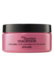 philosophy, pink chocolate macaroon body souffle