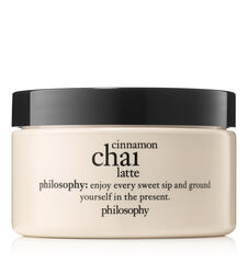philosophy, cinnamon chai latte body souffle