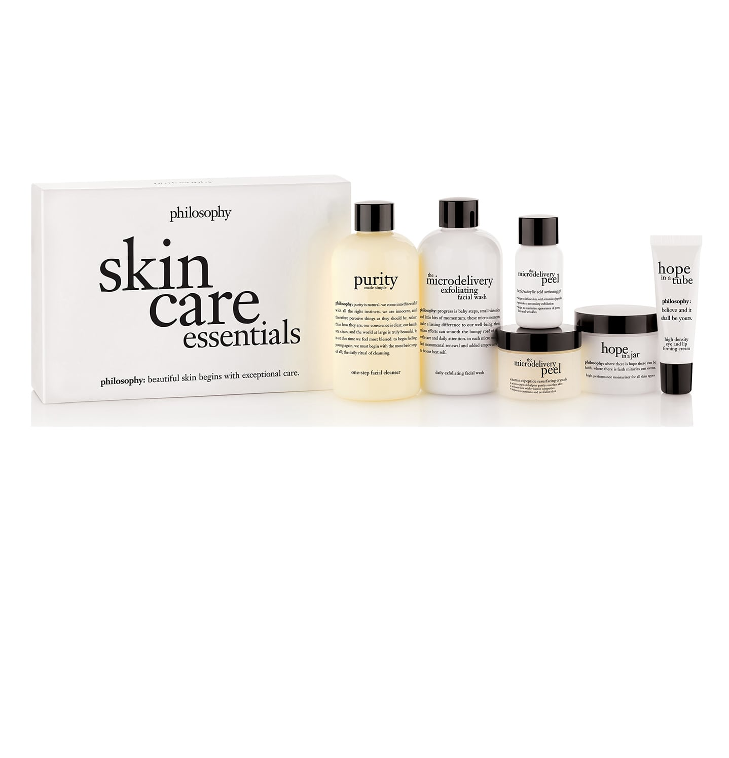 philosophy, philosophy skin care essentials