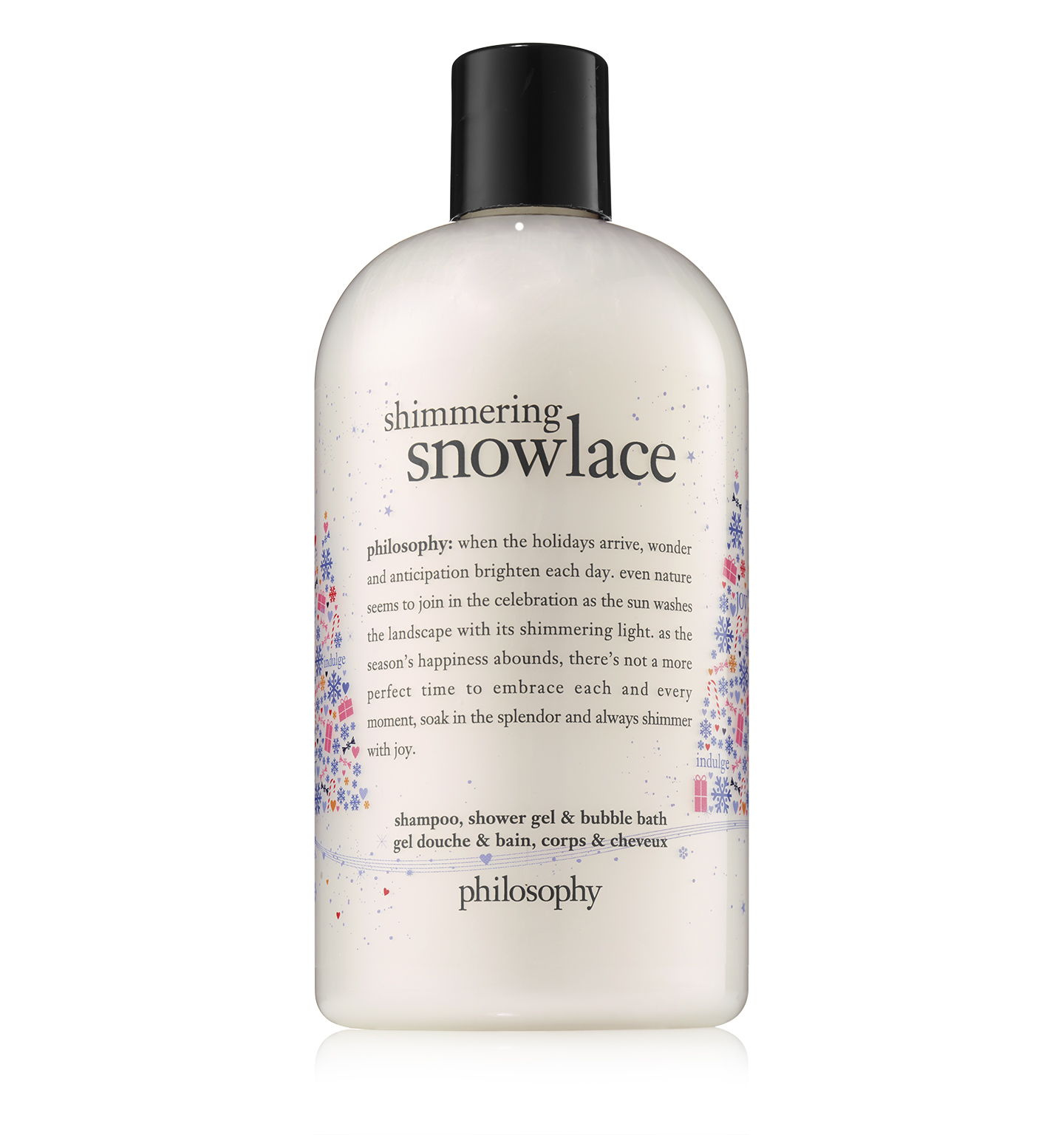 philosophy, shimmering snowlace