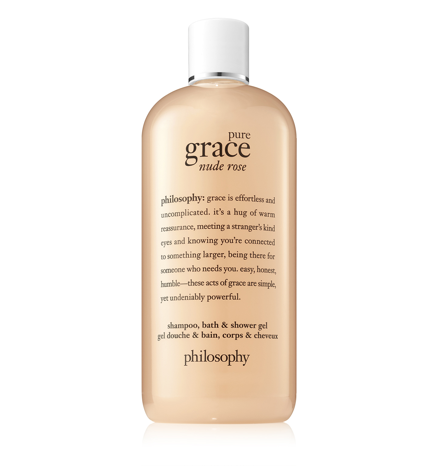 philosophy, pure grace nude rose shower gel