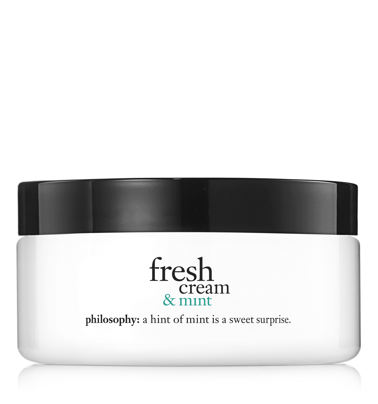 philosophy, fresh cream and mint body souffle