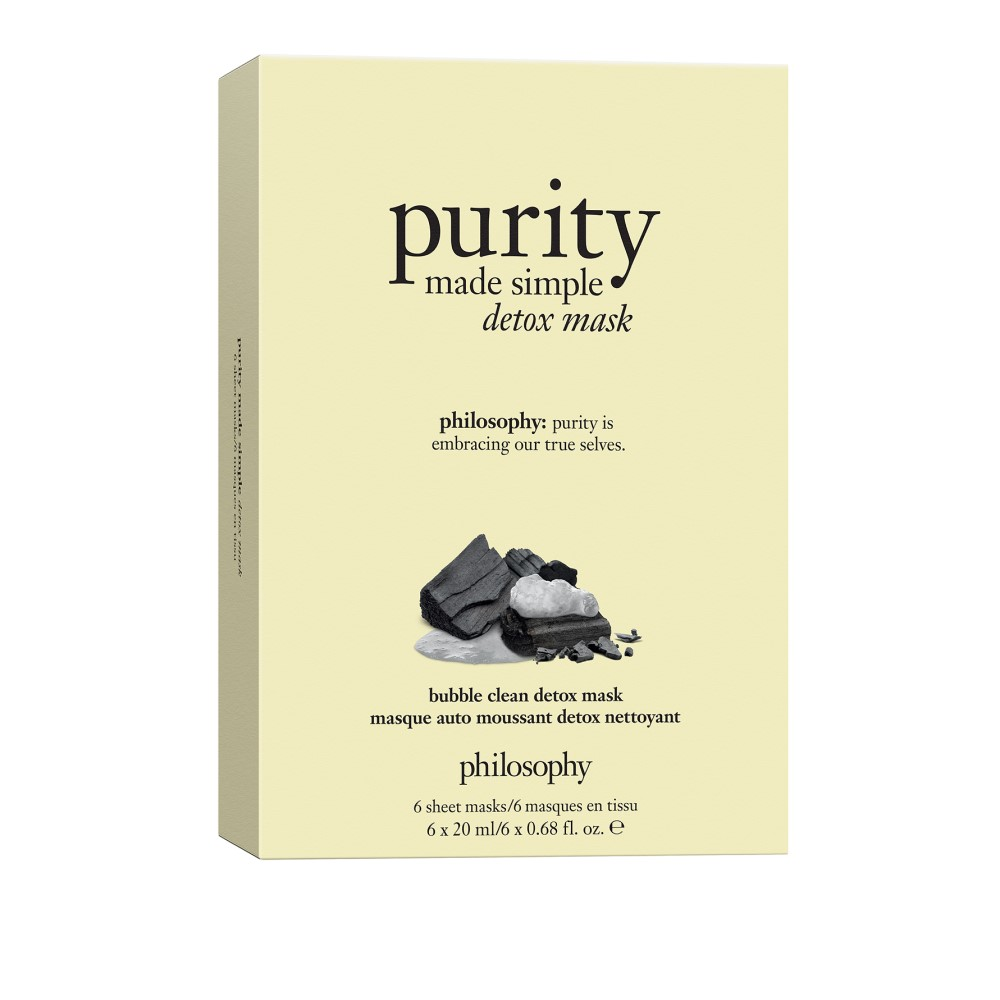 purity made simple sheet mask - 6pc