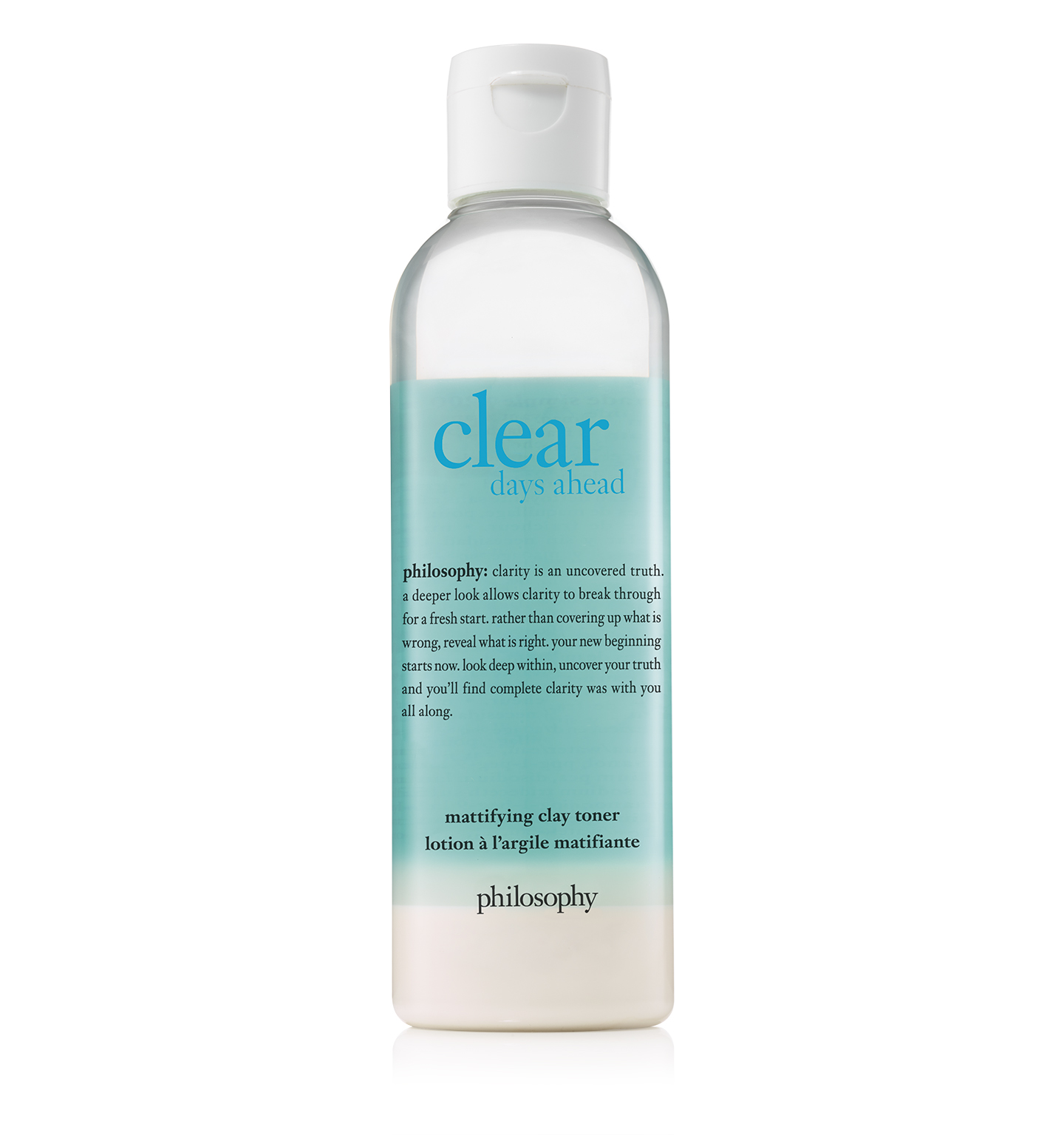 philosophy, clear days ahead facial toner