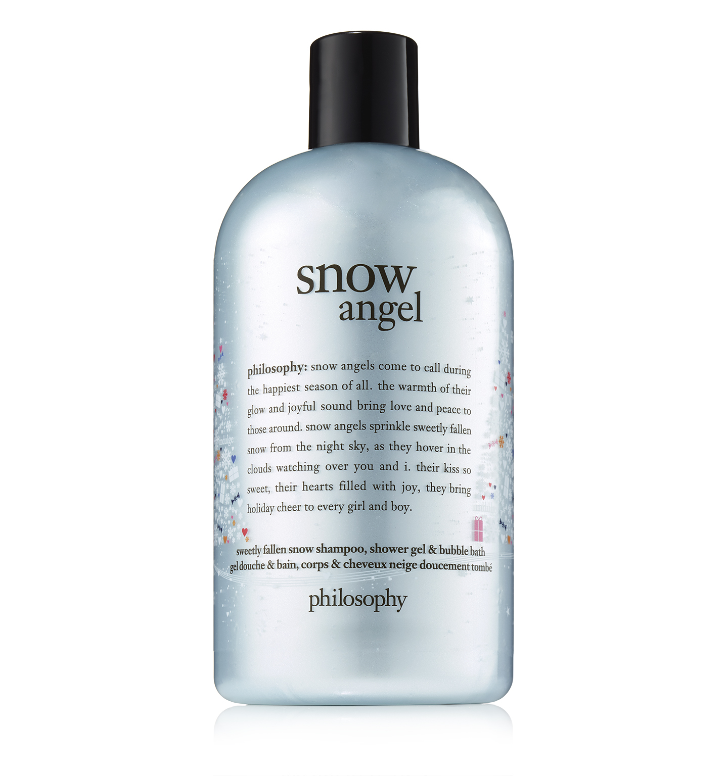 philosophy, snow angel shower gel