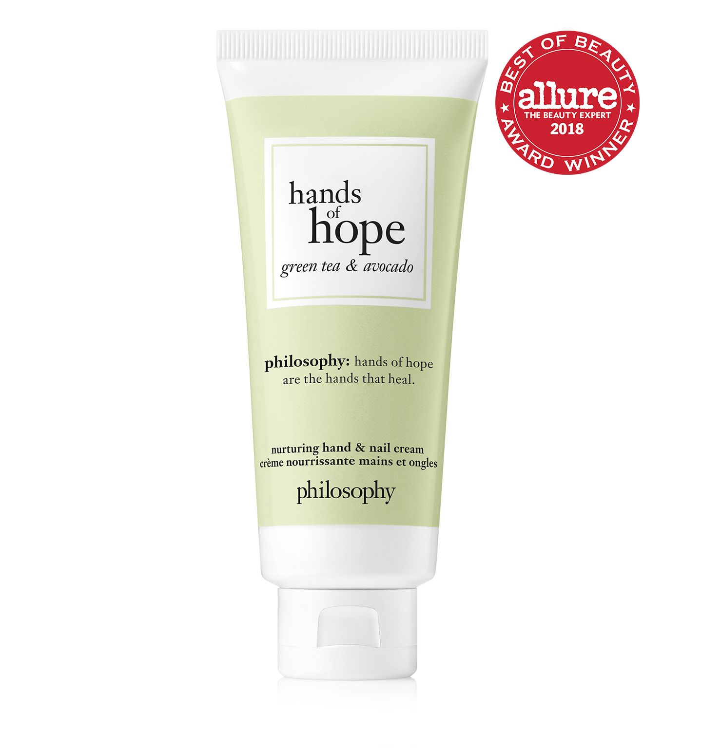 hands of hope green tea & avocado hand cream
