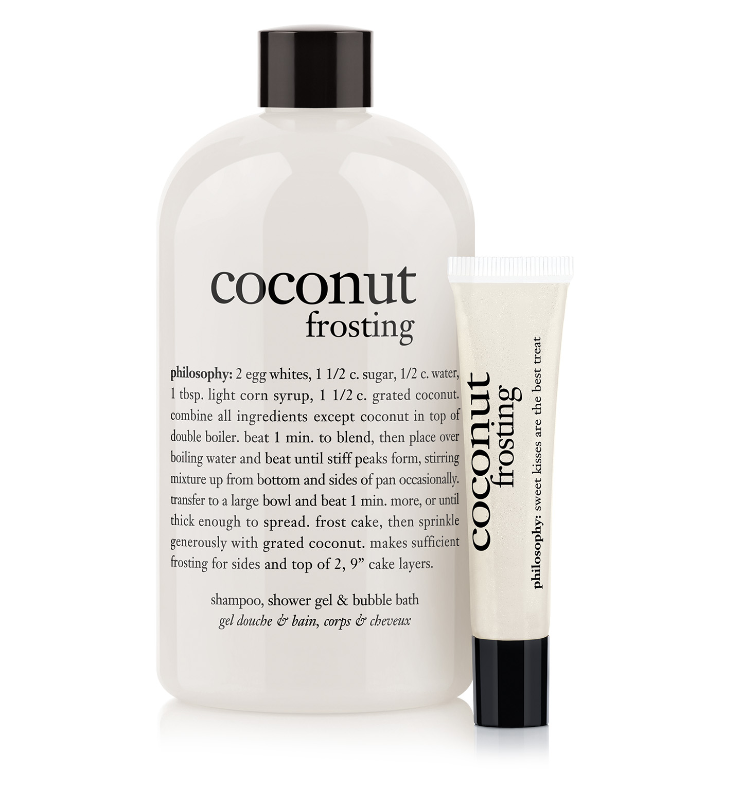 philosophy, coconut frosting bath duo