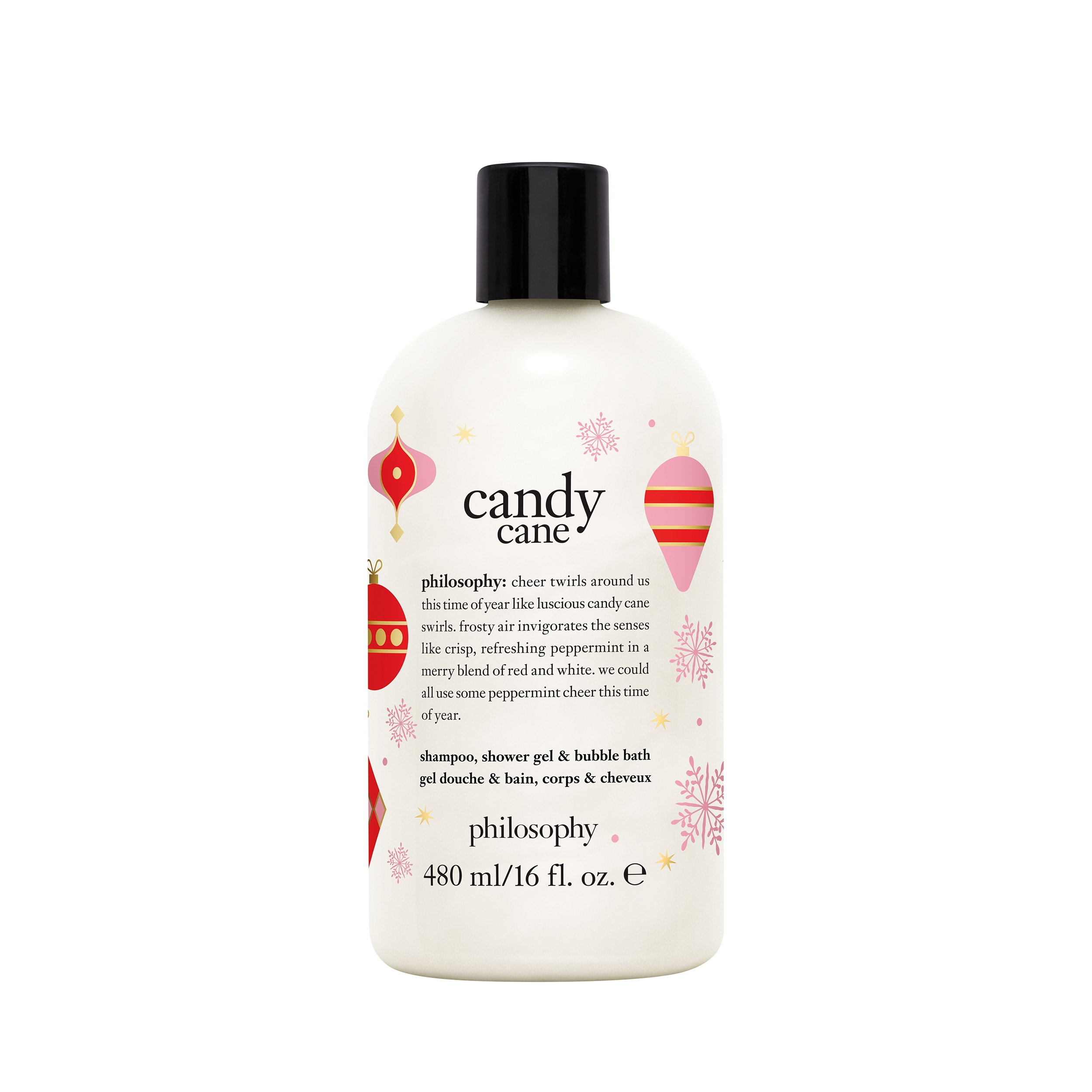 Candy Cane Shampoo Shower Gel And Bubble Bath Philosophy