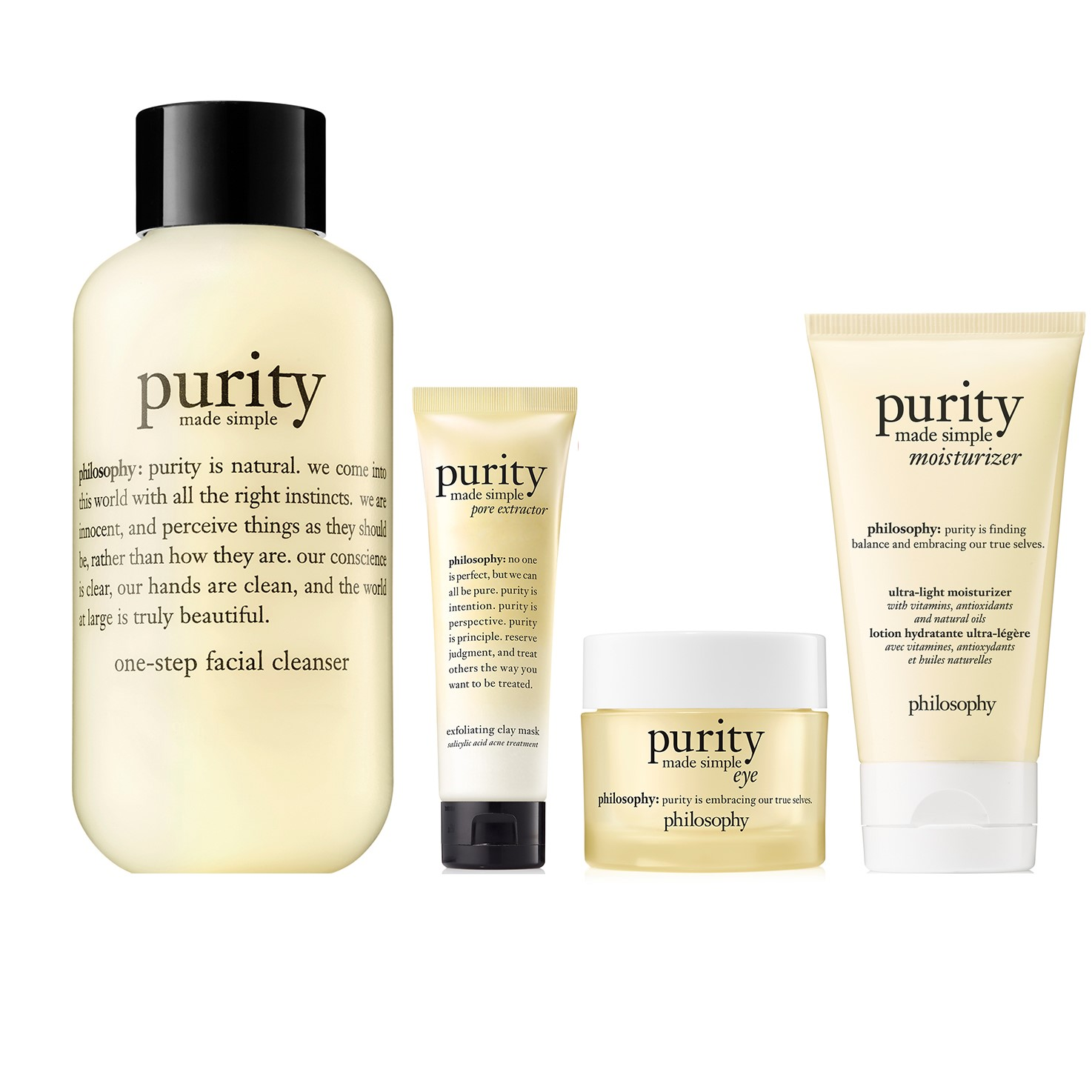 philosophy, purity family set