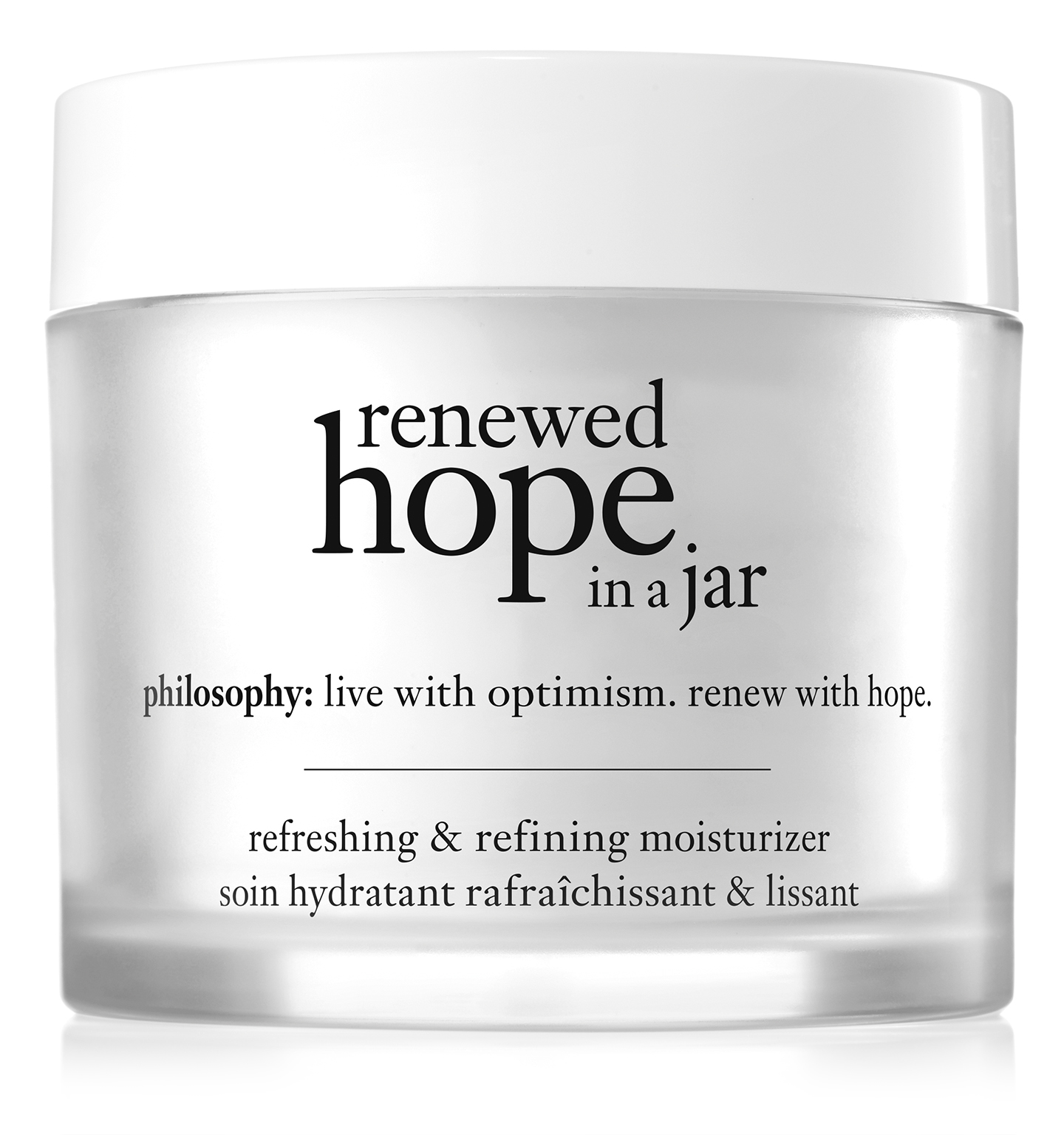 philosophy, renewed hope in a jar 2oz. moisturizer