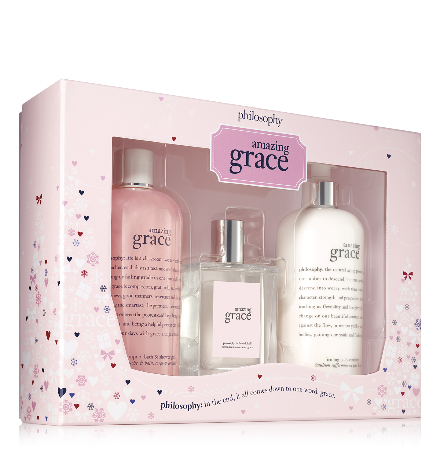 philosophy, amazing grace holiday set