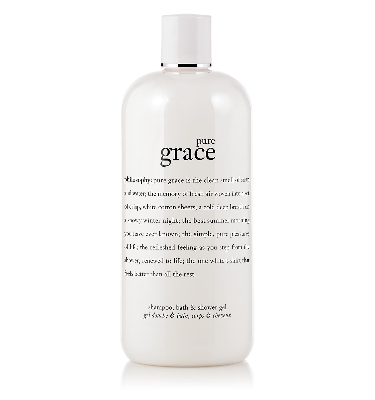 pure grace shampoo, bath & shower gel