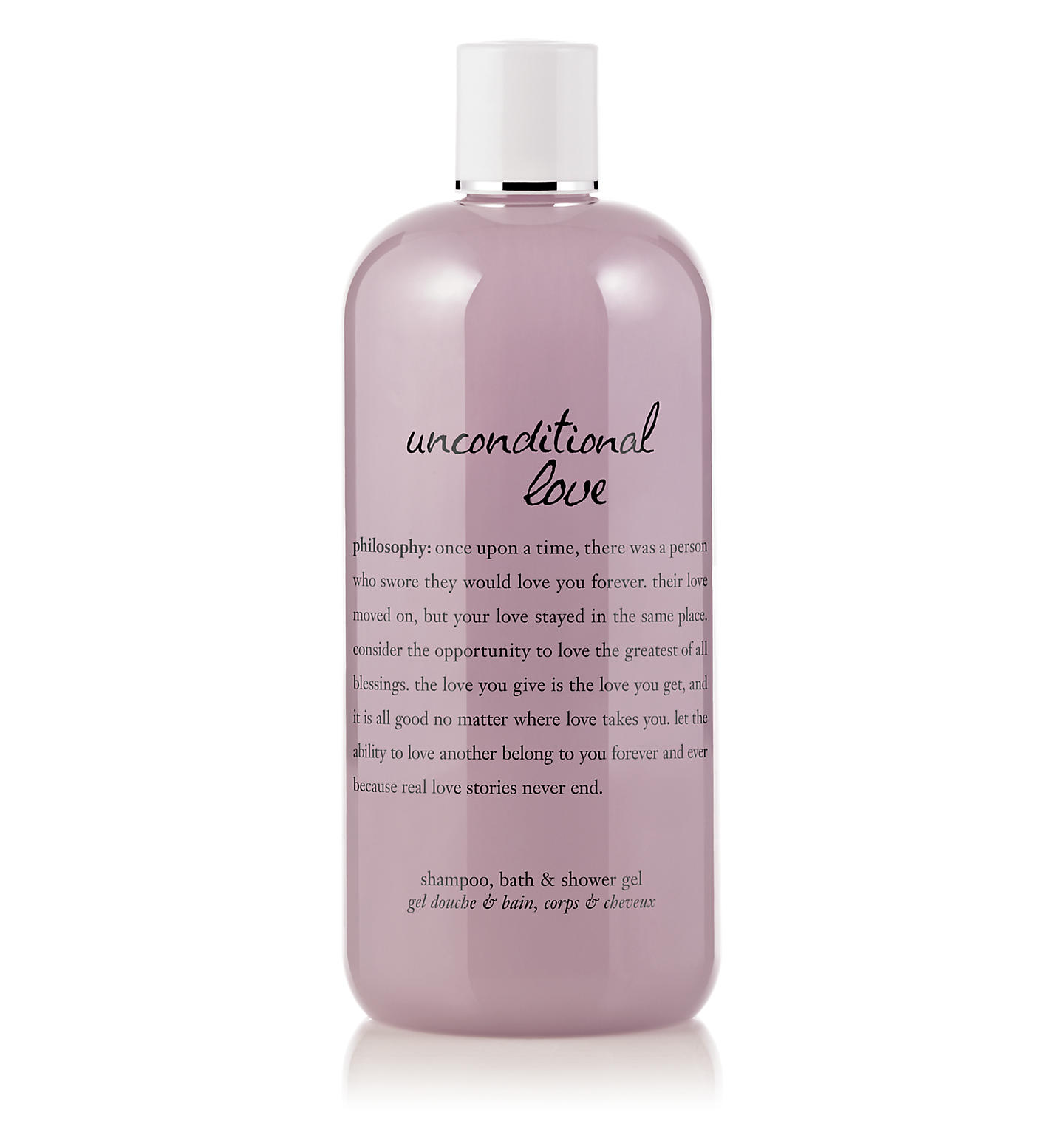 philosophy, unconditional love 16oz. shower gel