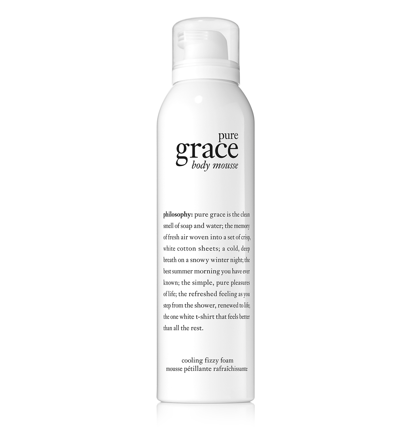 philosophy, pure grace body serum mousse