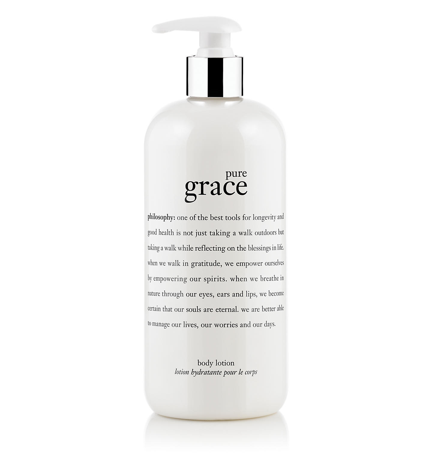 philosophy, pure grace body lotion