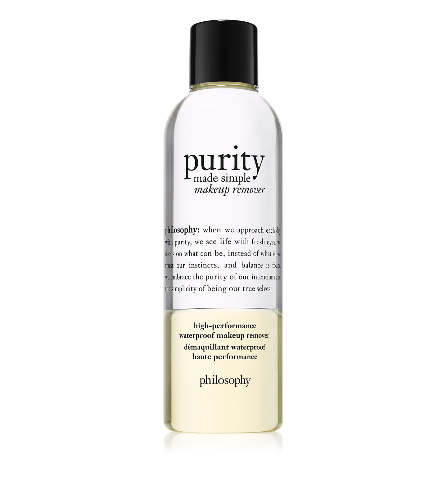 philosophy, purity made simple make-up remover