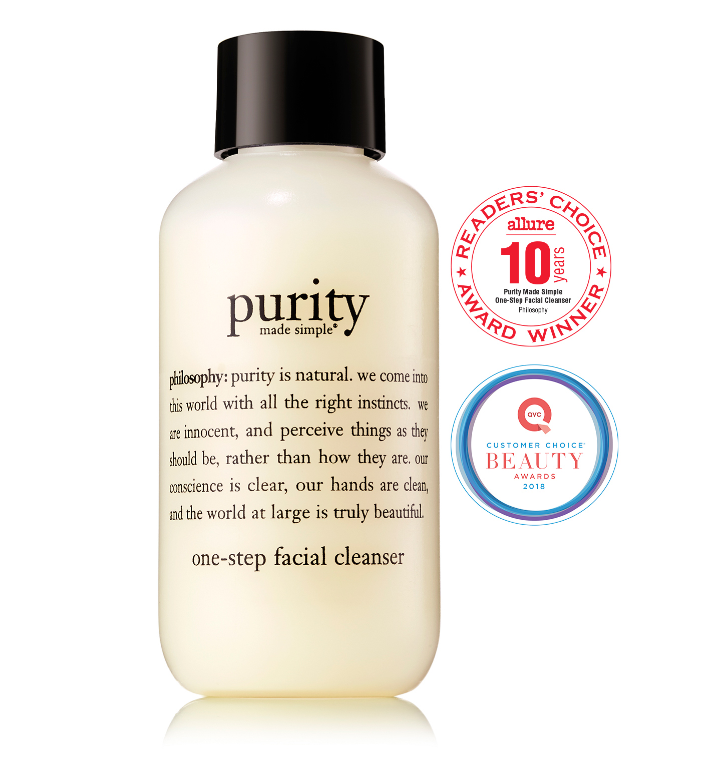 philosophy, purity made simple 3 oz. cleanser