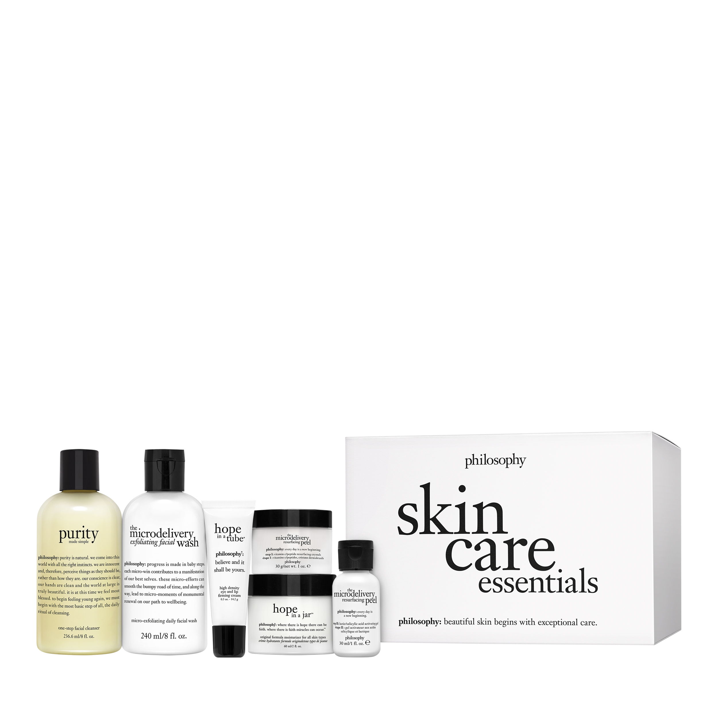 skin care essentials 5-step daily must haves