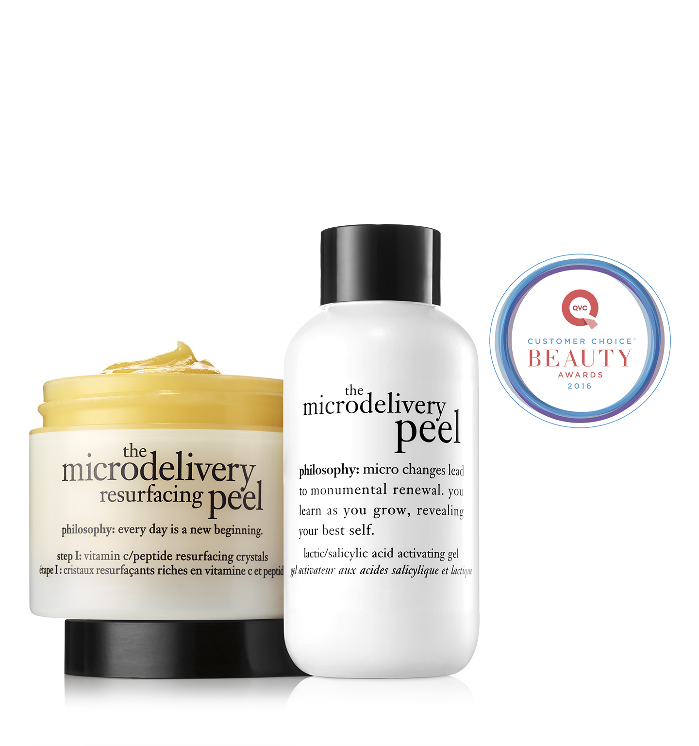the microdelivery | in home vitamin c/peptide peel | philosophy
