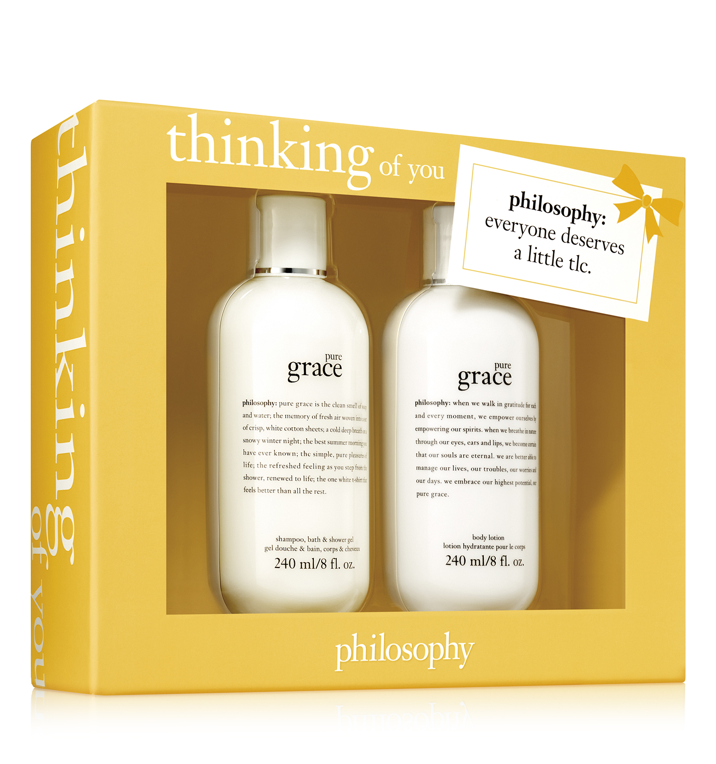 thinking of you 2-piece pure grace set