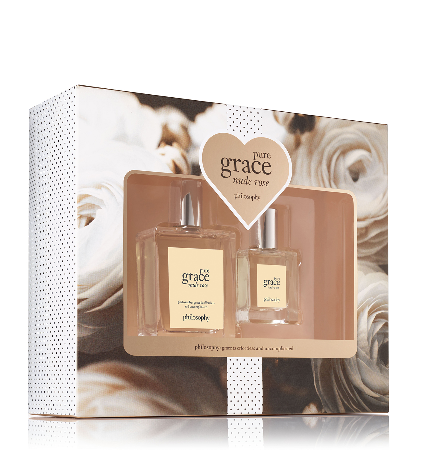 philosophy, pure grace nude rose 2-piece spray fragrance set