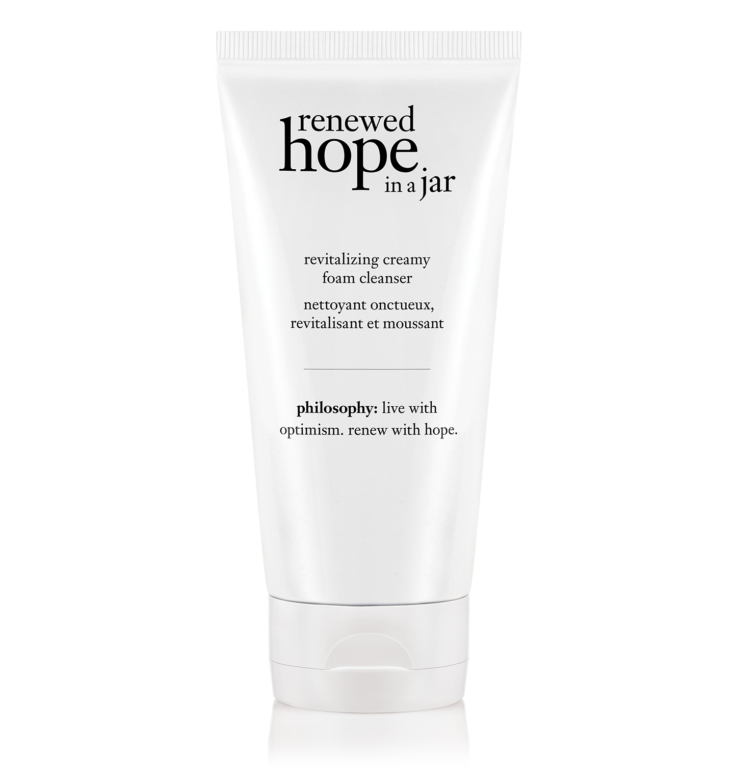 renewed hope in a jar foaming face wash