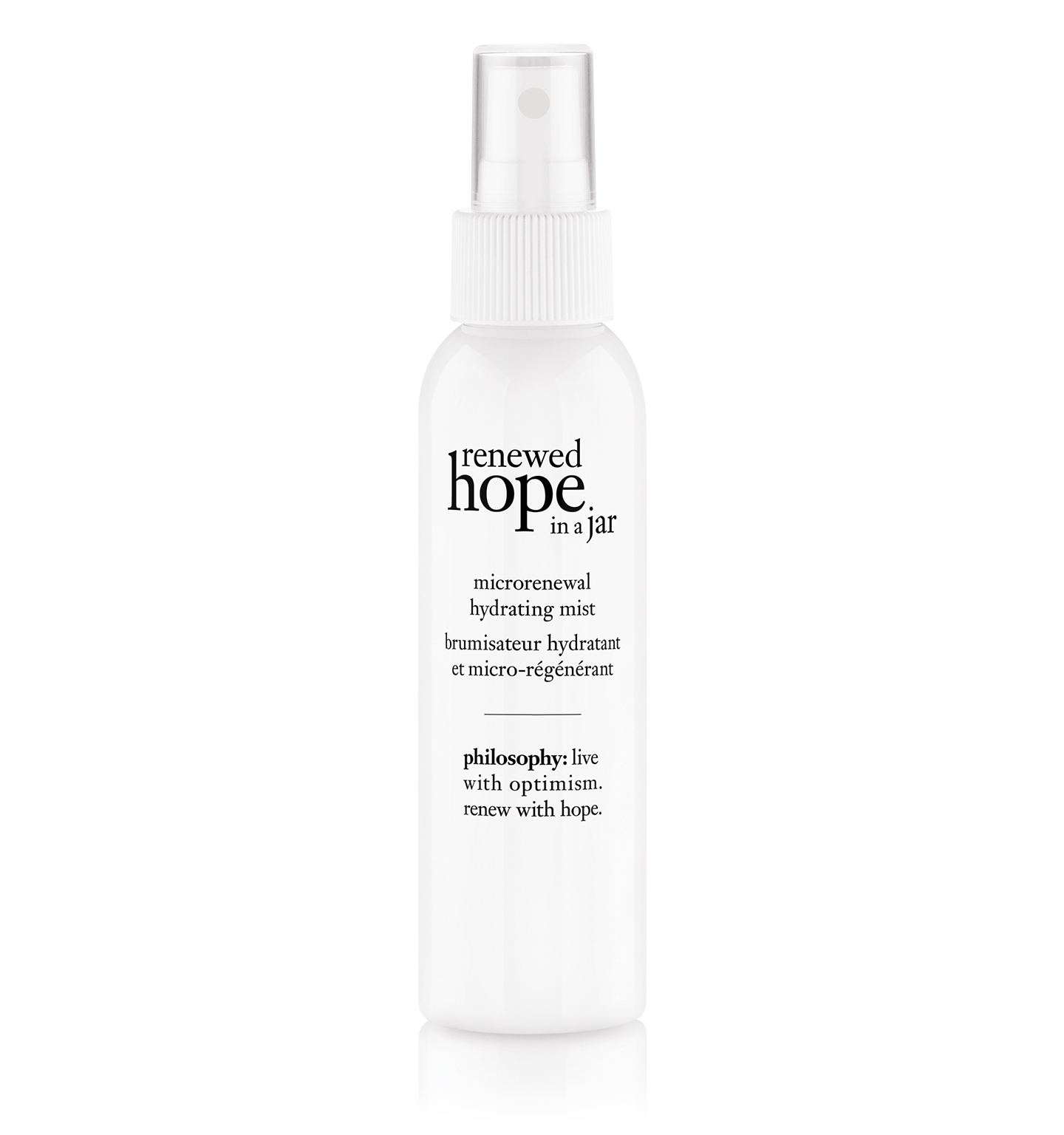 philosophy, renewed hope in a jar hydrating mist