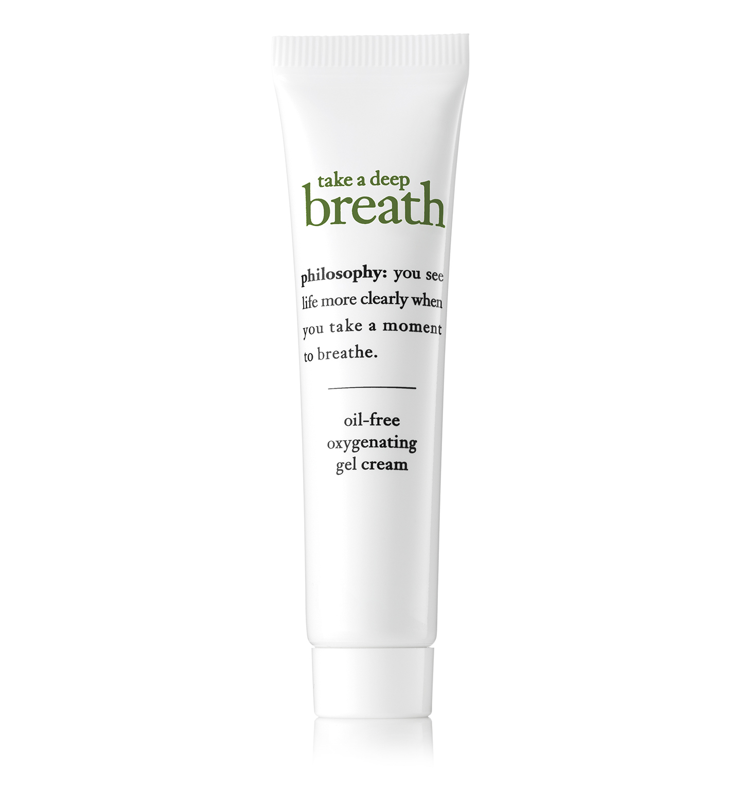 take a deep breath oil-free oxygenating gel cream