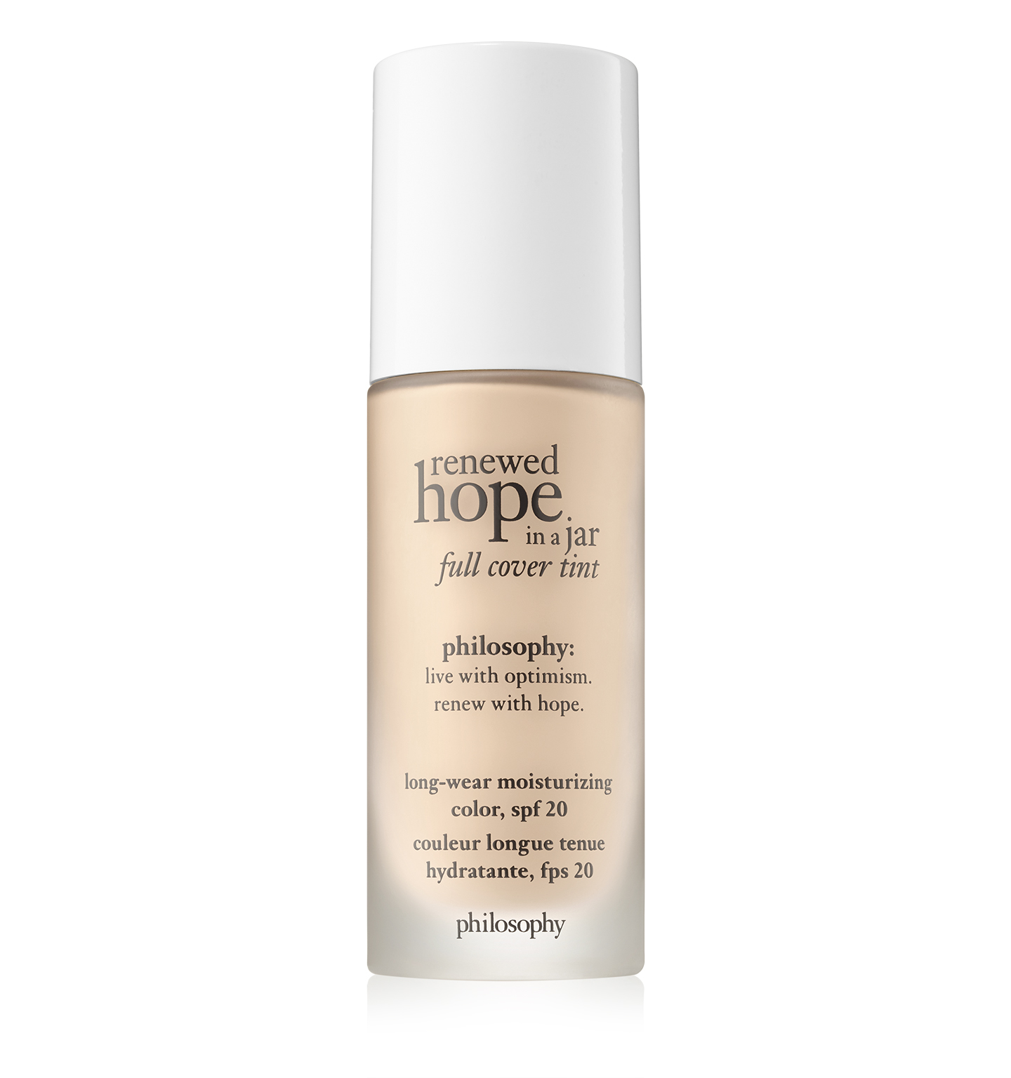 philosophy, renewed hope in a jar full cover tint