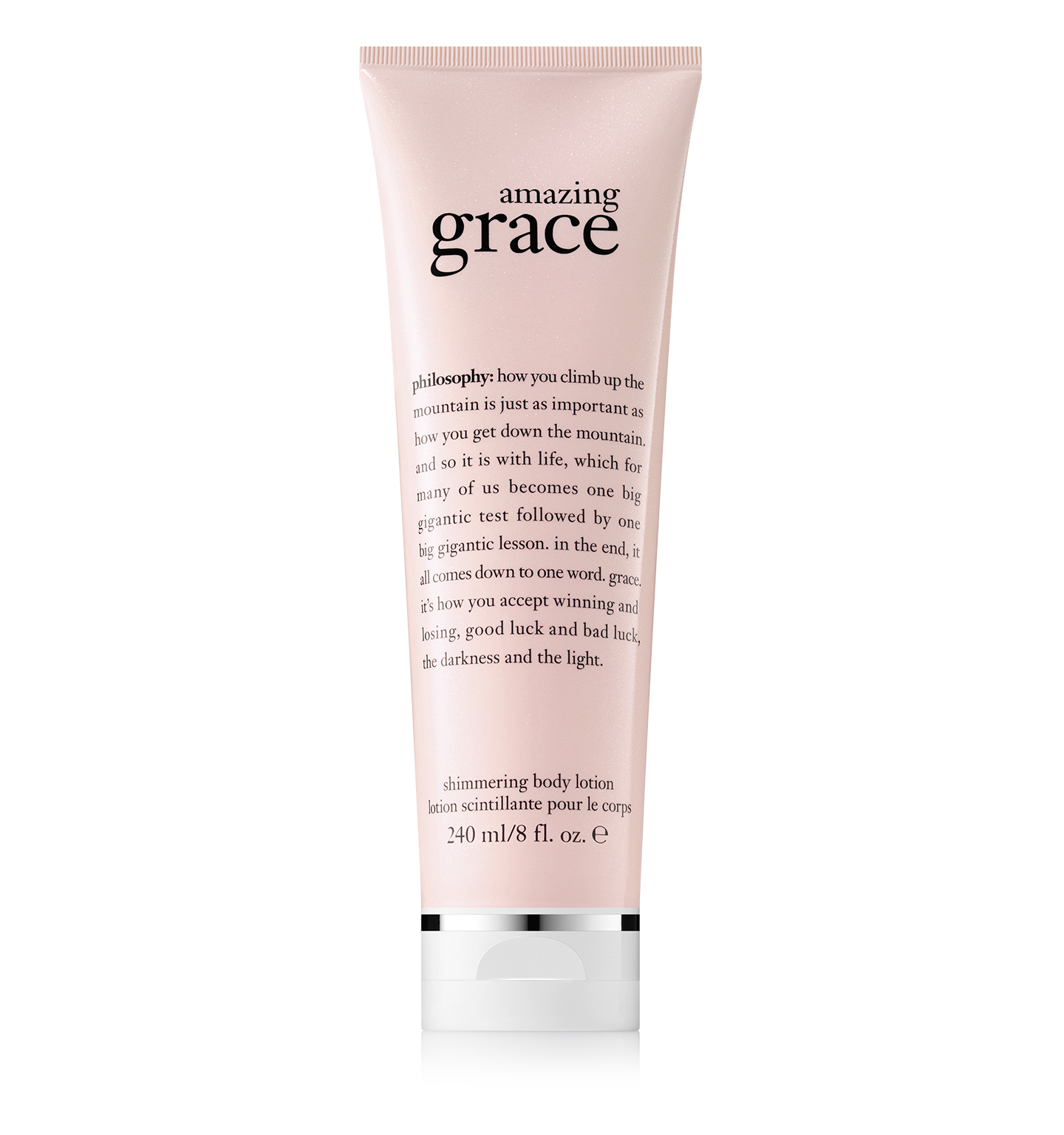 philosophy, amazing grace shimmering body lotion