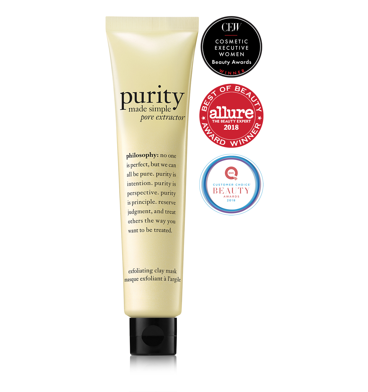 philosophy, purity made simple pore extractor mask