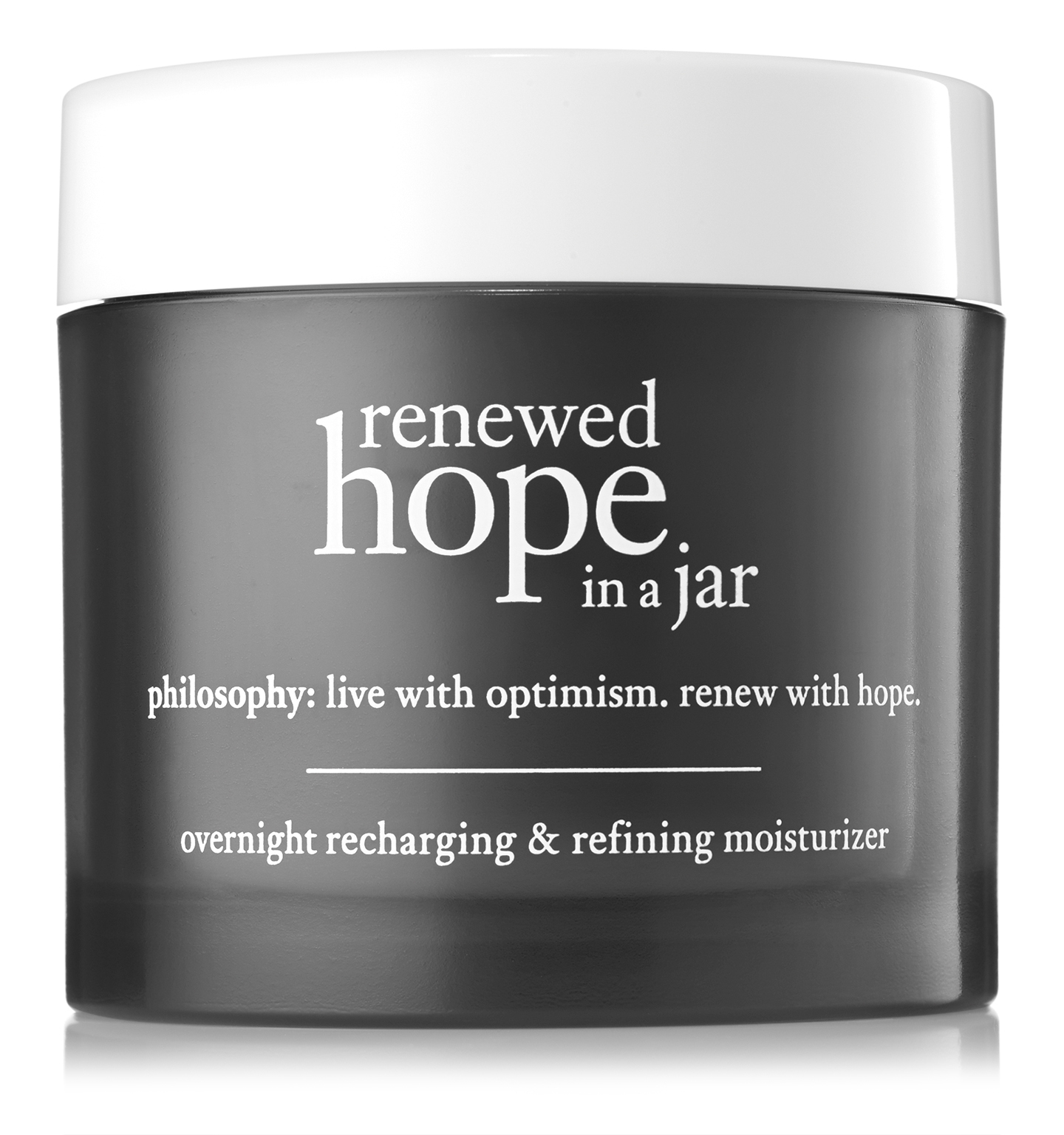 philosophy, renewed hope in a jar