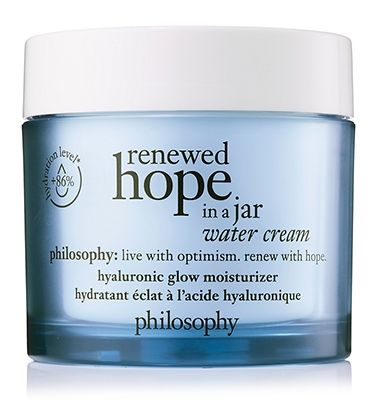 philosophy, renewed hope in a jar water cream